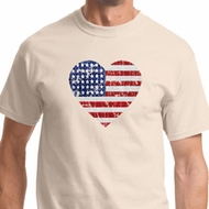 Distressed USA Heart Shirts