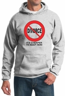 Divorce Hoodie Funny Cheaper To Keep Black Print Hoody
