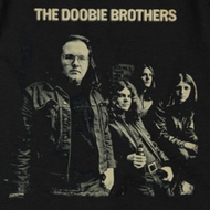 Doobie Brothers Black And White Photo Shirts