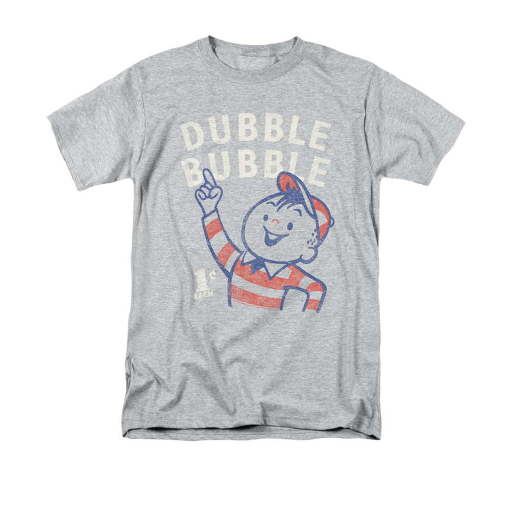 Double Bubble Shirt Pointing Athletic Heather T Shirt