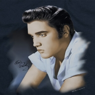 Elvis Presley Blue Profile Shirts