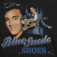 Elvis Presley Blue Suede Shoes Shirts