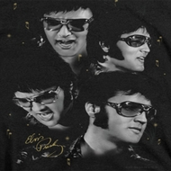 Elvis Presley Faces Shirts