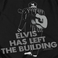 Elvis Presley Left The Building Shirts