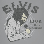 Elvis Presley Live In Memphis Shirts