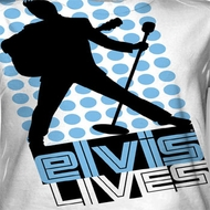 Elvis Presley Livin Large Sublimation Shirts