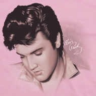 Elvis Presley Looking Down Shirts