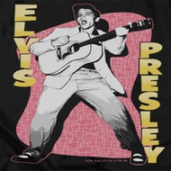 Elvis Presley Pink Rock Shirts