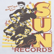 Elvis Presley Sun Records Soundtrack Shirts