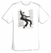 Elvis T-shirt -Jailhouse Black & White Classic - White