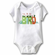 Family Guy Baby Romper Bird White Infant Babies Creeper