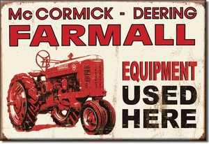 Farmall Tractor Magnets