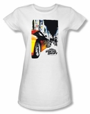 Fast And Furious Tokyo Drift Juniors T-shirt Poster White Tee Shirt