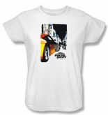 Fast And Furious Tokyo Drift Ladies T-shirt Poster White Tee Shirt