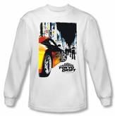 Fast And Furious Tokyo Drift T-shirt Poster White Long Sleeve Shirt