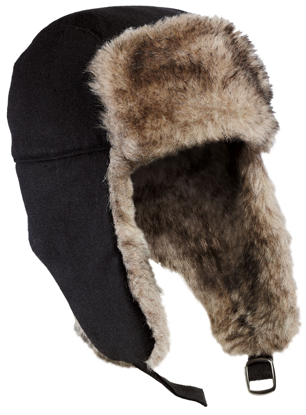 Ford Sweatshirts Faux Fur Winter Hat with Flaps - Hats