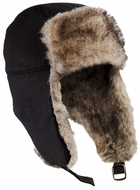 Faux Fur Winter Hat with Flaps