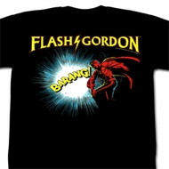 Flash Gordon Shirt Doin It Adult Black Tee T-Shirt