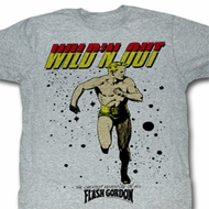 Flash Gordon Shirt Wildn Out Adult Heather Grey Tee T-Shirt
