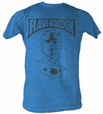 Flash Gordon T-Shirt - Ballin' Adult Turquoise Heather Tee Shirt
