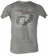 Flash Gordon T-Shirt - Flash Head Adult Gray Heather Tee Shirt