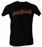 Flash Gordon T-Shirt � Logo Adult Black Tee Shirt