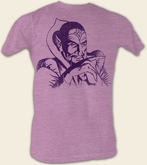 Flash Gordon T-Shirt - Ming Adult Purple Heather Tee Shirt