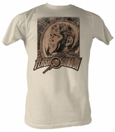 Flash Gordon T-Shirt - Shocking Adult Dirty White Tee Shirt