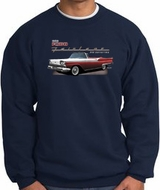 Ford Fairlane 1959 Sweatshirts - 500 Convertible Adult Sweat Shirts