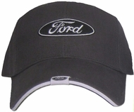 Ford Hat - Logo Tag Fine Embroidered Adjustable Cap
