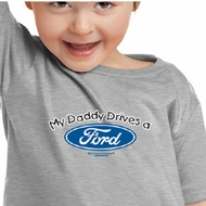 Ford Kids Shirt My Daddy Drives a Ford Youth Toddler Tee T-Shirt