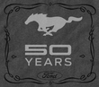 Ford Mustang 50th Anniversary Charcoal Shirt