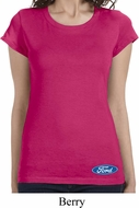 Ford Oval Bottom Print Ladies Ford Shirts