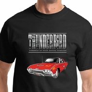 Ford Shirt 1963 Red Thunderbird Tee T-shirt