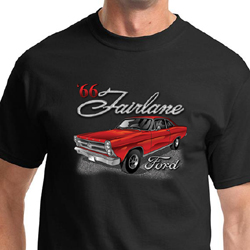 Ford Shirt 1966 Red Ford Fairlane