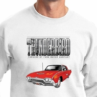 Ford Sweatshirt 1963 Red Thunderbird Sweatshirt