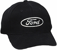 Ford Logo Hat - Logo Embroidered Adjustable Cap
