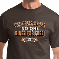 Gas Grass Or Ass Mens Biker Shirts