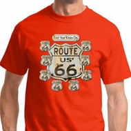 Get Your Kicks Mens Biker Shirts