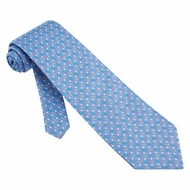 Golf Balls Tees Tie Blue Silk Necktie � Mens Sports Neck Tie