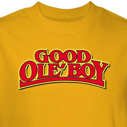Good Ole Boy Shirt Yellow Tee T-shirt