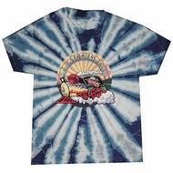 Grateful Dead Kids T-shirt Tie Dye GD Train Youth Tee Shirt