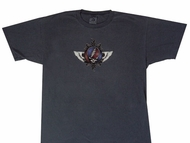 Grateful Dead Shirt Flying Stealie Adult Tee T-Shirt