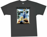 Grateful Dead Shirt Tom Sawyer Adult Charcoal Tee T-Shirt