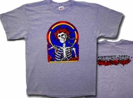Grateful Dead T-shirt Skull and Roses Classic Tee Shirt