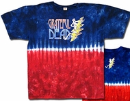 Grateful Dead T-shirt Tie Dye Adult Tee Shirt
