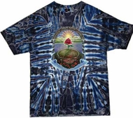 Grateful Dead T-shirt Tie Dye Rose Garden Tee Shirt