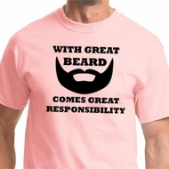 Great Beard Great Responsibility Mens Shirts