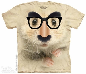 Hamster Disguise Shirt Tie Dye Adult T-Shirt Tee