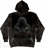 Hanging Bat Hoodie Tie Dye Adult Hooded Sweat Shirt Hoody